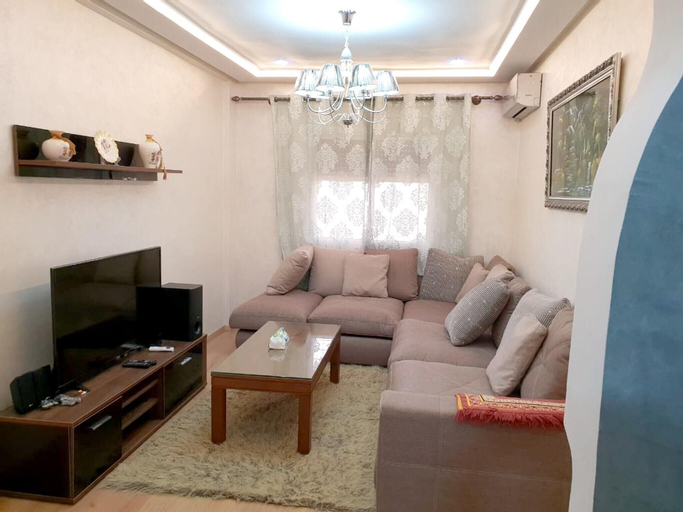 Apartment With 2 Bedrooms in Meknes, With Wonderful City View, Furnished Garden and Wifi - 140 km From the Beach, Meknès