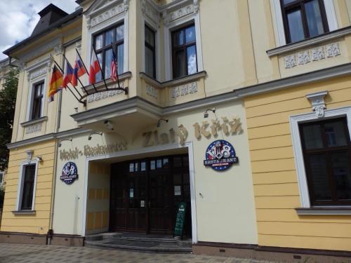 Hotel Zlaty Kriz, Teplice