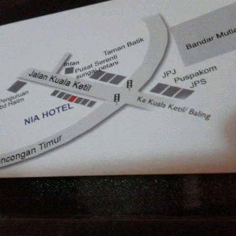 Nia Hotel, Kuala Muda