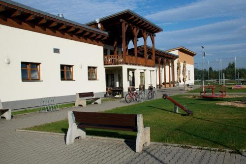 Sportovni areal Horni Pocaply, Mělník