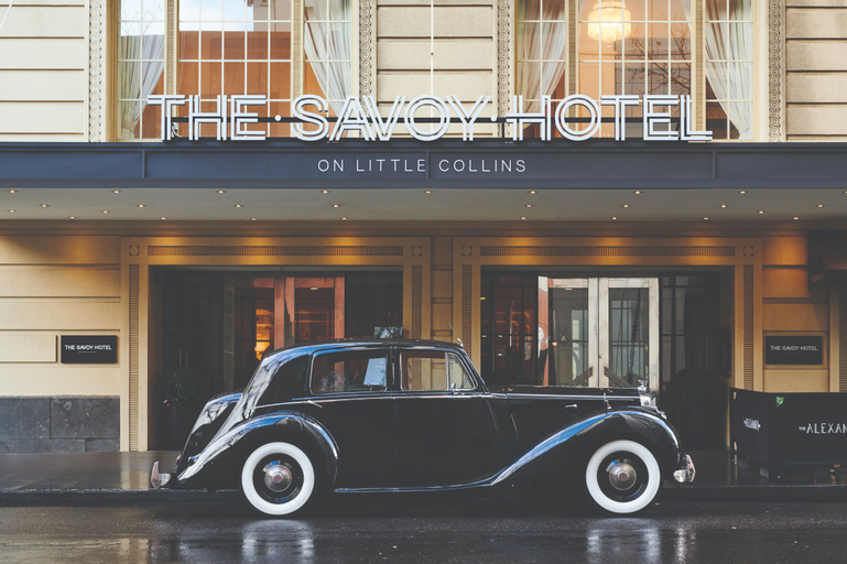 The Savoy Hotel on Little Collins Melbourne, Melbourne