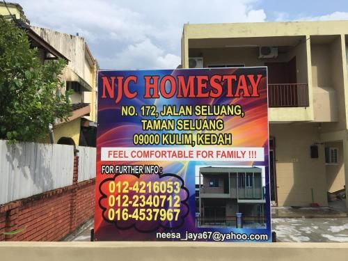 NJC Homestay, Kulim