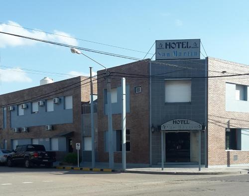 Hotel San Martin, Capital
