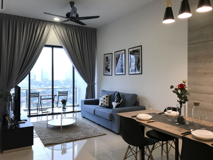 Cozy Homestay With KLCC Twin Tower View, Kuala Lumpur