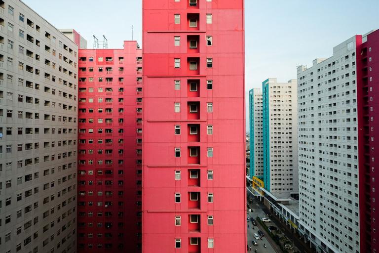 Comfortable 2BR Green Pramuka Apartment, Central Jakarta