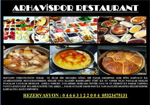 Arhavispor Otel Ve Restaurant, Hopa