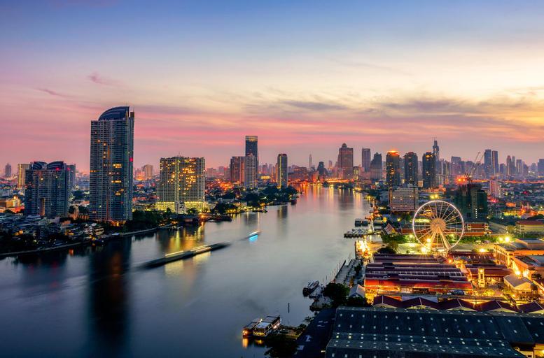 Chao Phraya River Suite 5 STARs Luxurious, Sathorn