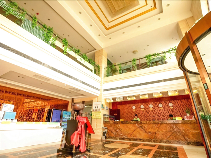 GreenTree Inn Qingdao Wuyishan Road JUSCO Shopping Mall Hotel, Qingdao