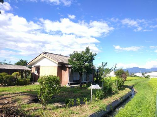 Tomo's hut in Japanese old style, Azumino