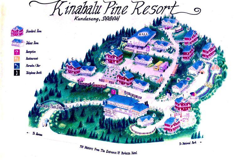 Kinabalu Pine Resort, Ranau