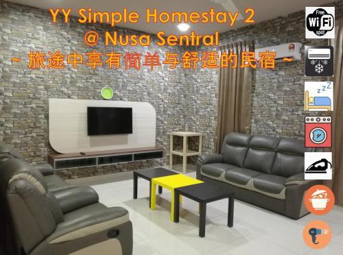 YY Simple Homestay 2 @ Nusa Sentral, Johor Bahru