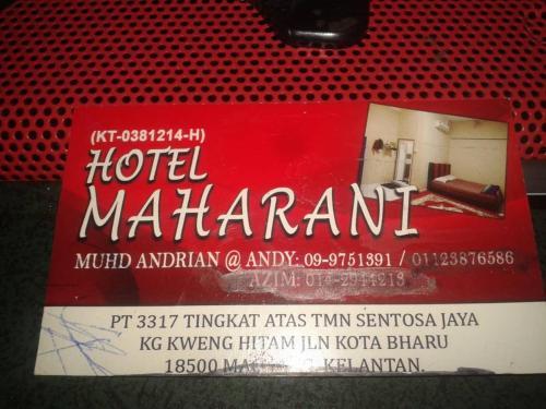 Maharani Hotel, Kota Bharu