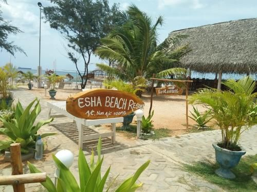 Esha Beach Resort, Trincomalee Town and Gravets
