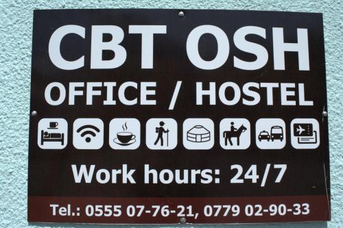 CBT Osh Tourist Info Office & Hostel, Osh