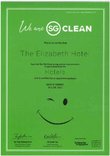 The Elizabeth Hotel, Orchard