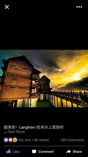 Langkawi Lagoon Resort Water Chalet, Langkawi
