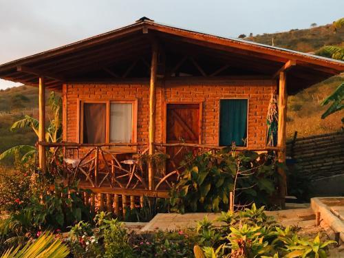 La Casa Azul del Mirador, Puerto López