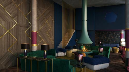 The Hide Flims Hotel, Imboden