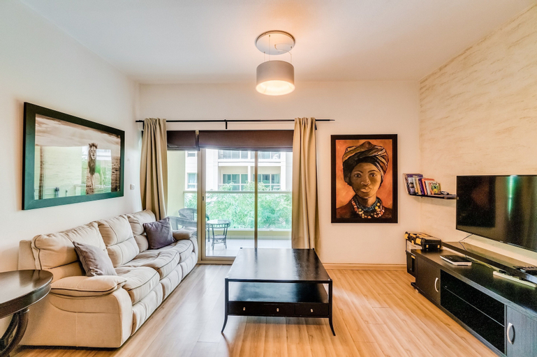 Short Booking - 1 BDR Apartment Greens,