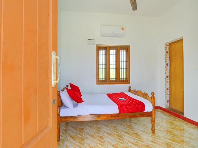 OYO 12136 Home Serene 1BHK Aurovile Beach, Viluppuram