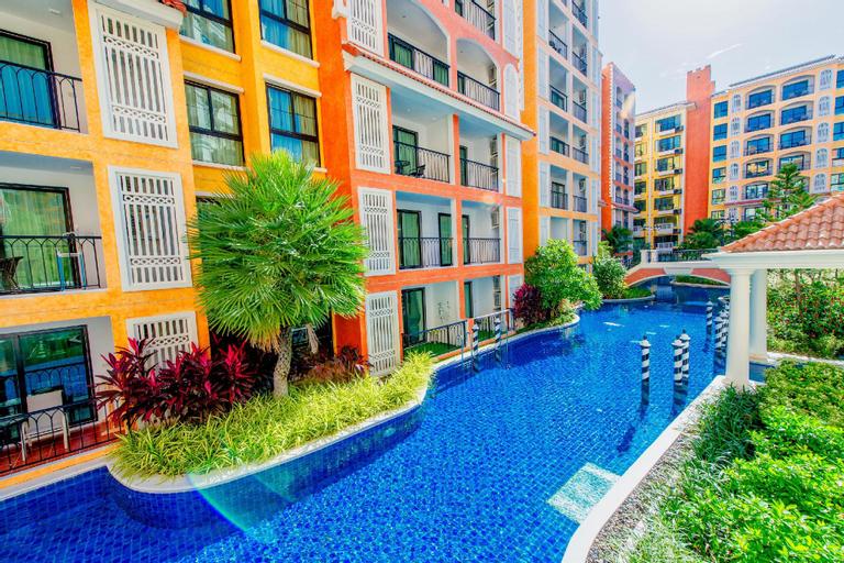 (Gym/sauna) Spacious waterpark apartment pool view - 14944970, Sattahip