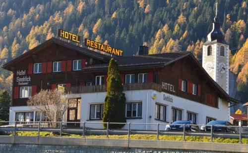 Hotel Seeblick, Hinterrhein