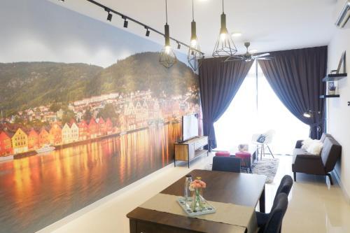 Rentostay BayView Apartment-Bora Resident, Johor Bahru