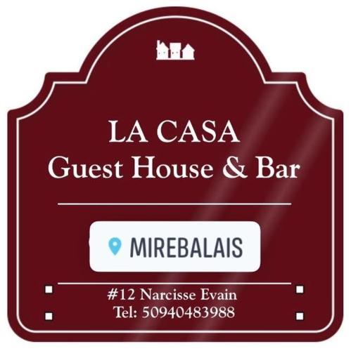 LA CASA guest house and bar, Mirebalais