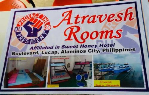 ATRAVESH ROOM (Sweet Honey Hotel), Alaminos City