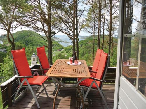 Holiday Home Lyngdal with Fireplace I, Lyngdal