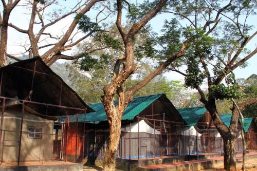 1 BR Tent in Thenmala Post, Kollam (DF78), by GuestHouser, Kollam