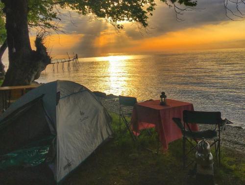 camping sile, Vize