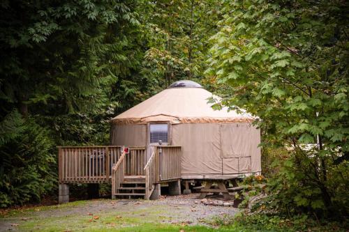 Mount Vernon Camping Resort 20 ft. Yurt 2, Skagit