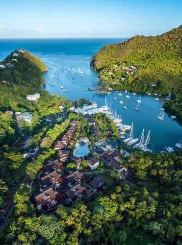 Marigot Bay Resort and Marina All Inclusive,