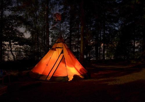 Granny's camp in Racha, Oni