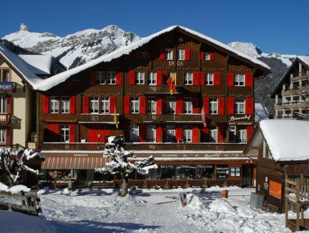 Swiss Lodge Hotel Bernerhof Wengen, Interlaken