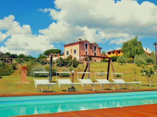 Morden Farmhouse with Pool in San Gemini, Terni