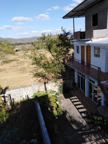 The patio de Rosa, Estelí