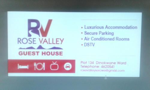 Rose Valley Guesthouse, Serowe