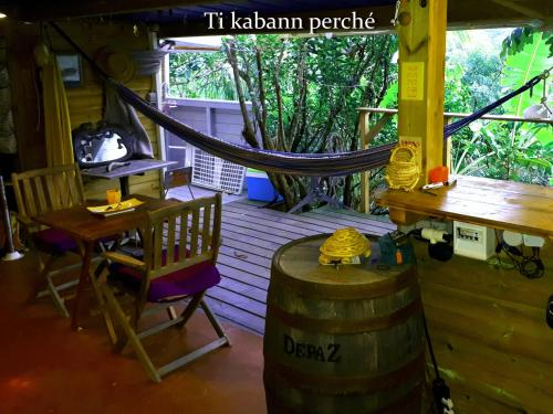 Ti Kabann Perchee, Le Morne-Vert