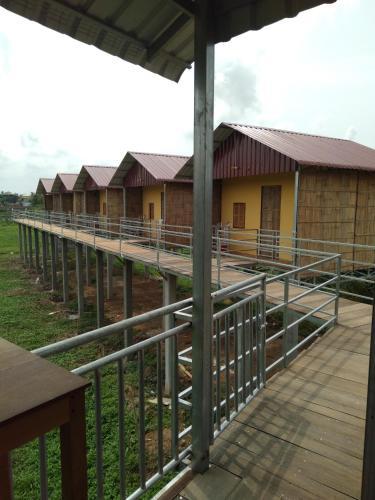 Natural bungalows, Kampong Cham