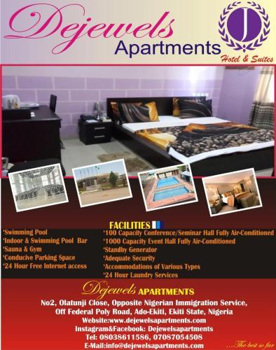 Dejewels Apartments, Ado-Ekiti