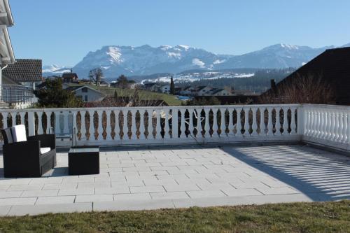 Panoramic mountain view home, Sursee