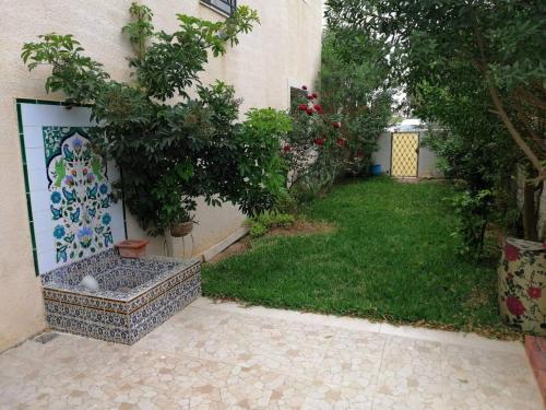 Maison baha, Hammamet