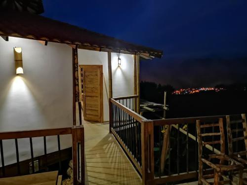 Ecohotel Entre Nubes, Pueblo Rico