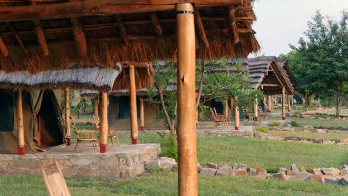 Have a very memorable experience by staying in one of our Fort Murchison tents, Nwoya