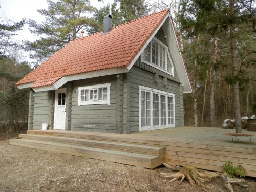 Patsu Holiday Home with Sauna, Leisi