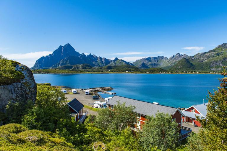 Sandvika Fjord & Sjøhus Camping, Vågan