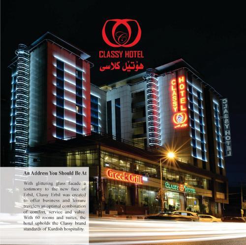 Classy Hotel Erbil, Arbil