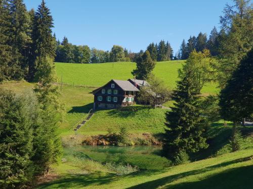 Historisches Schweizer Anwesen mit Weiher und Wald, Zug